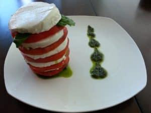 mi versión de ensalada capresa