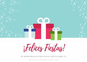 tarjetas de navidad 2018