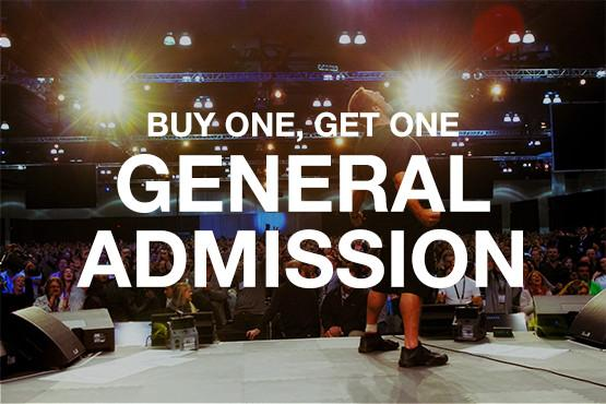 Tony Robbins UPW - General Admission to Executive-Bogo Holiday Campaign
